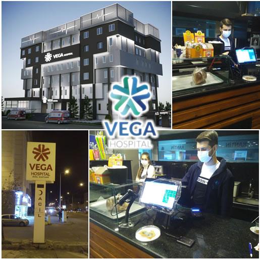 Tekirdağ Çorlu Vega Hospital Kantininde İmza kartlı satış sistemi